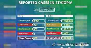 Coronavirus - Ethiopia: COVID-19 update (22 January 2021) - Africanews English