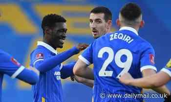 Brighton 2-1 Blackpool: Bissouma SCREAMER and bizarre Alzate deflection sends Seagulls through