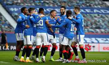 Rangers 5-0 Ross County: Gerrard's men extend lead at top of Scottish Premiership table to 23 POINTS