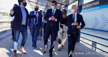 Massa, Meoni y Nardini inauguraron la nueva estación de Los Polvorines - 24CON
