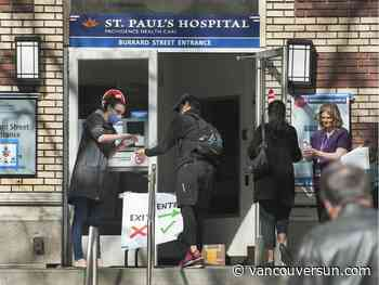 COVID-19: Outbreaks reported at St. Paul's, Royal Columbian hospitals