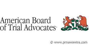 Grace Weatherly Sworn In As National President of the American Board of Trial Advocates