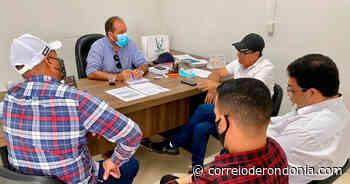 Presidente Laerte Gomes visita prefeito de Ouro Preto do Oeste - Correio de Rondônia