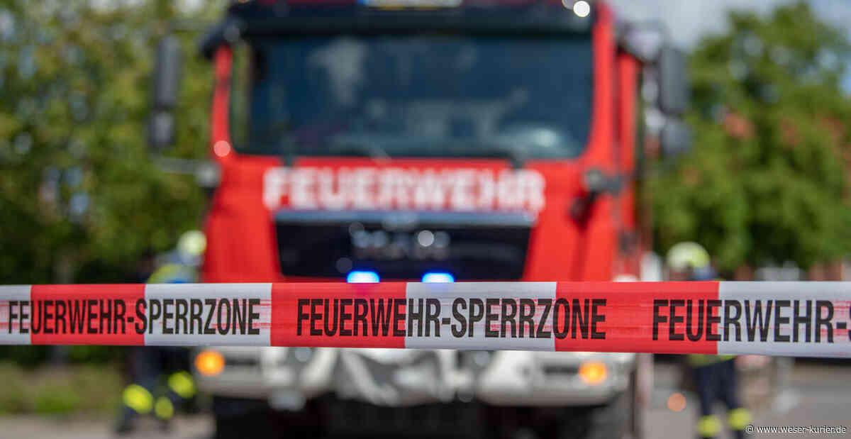 Offenstall brennt aus - WESER-KURIER