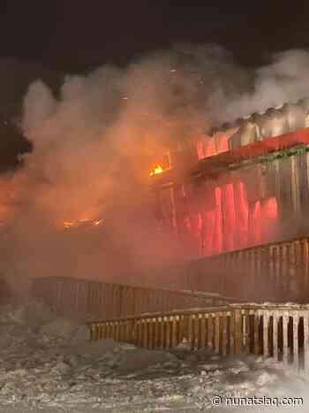 "Igloolik Co-op blaze ""suspicious,"" police say - Nunatsiaq News"