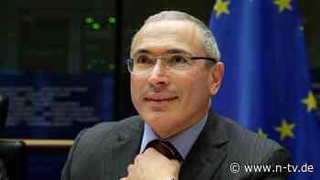 """""""Verfolgt ihre Geldströme"""": Chodorkowski will EU-Strafen für Oligarchen"""