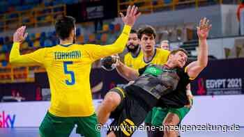 Handball-WM: Deutschland deklassiert Brasilien - doch schon vorher gibt es eine schlechte Nachricht