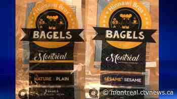 Quebec food safety alert: Presence of eggs found in vegan bagels - CTV News Montreal