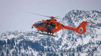 """Unglück in den Alpen: Lawine reißt drei Männer knapp 100 Höhenmeter mit - dennoch haben sie """"Glück im Unglück"""""""