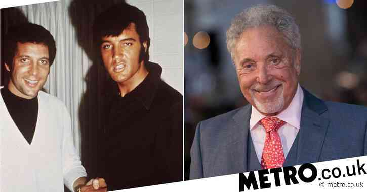 True story of how The Voice UK coach Sir Tom Jones met idol and friend Elvis Presley