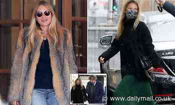 Kate Moss jets into curfewed Paris for 47th birthday weekend at £2,500-per-night Ritz