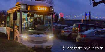 Premiers kilomètres pour la navette électrique - La Gazette en Yvelines