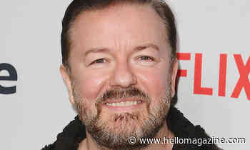 Ricky Gervais reveals 5lbs weight gain in hilarious shirtless photo