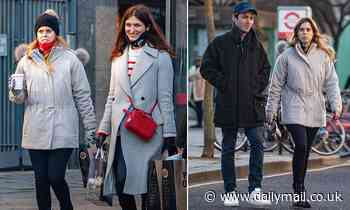 Princess Beatrice's husband Edoardo Mapelli Mozzi sports personalized baseball cap during food shop