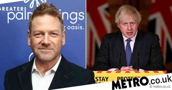 Sir Kenneth Branagh to play Prime Minister Boris Johnson in coronavirus pandemic drama