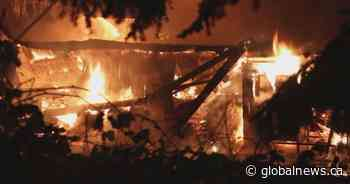 Crews battle 2-alarm fire in Burnaby, 3-alarm blaze in Surrey overnight