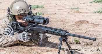 British sniper kills 5 ISIS terrorists with one shot from over half a mile away