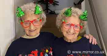 UK's oldest identical twin slams 'w**nker' Boris Johnson as sister dies of Covid