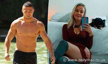 Sam Burgess parties with sex columnist Jana Hocking