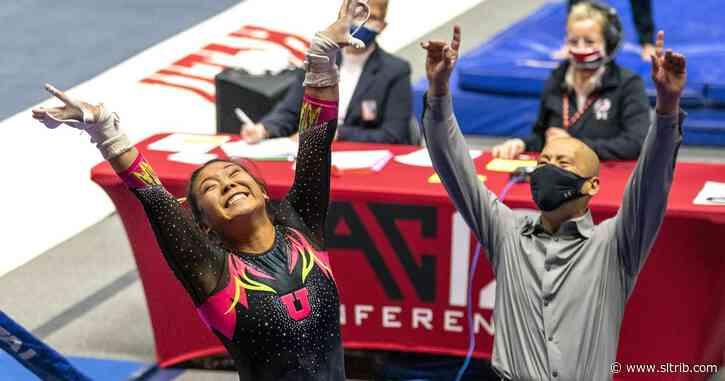Utah gymnastics team bounces back with win over Arizona