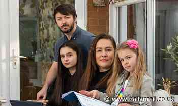 Mother-of-three fears her children will never catch up on the schooling they've lost