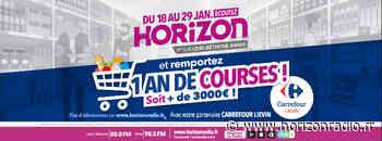 HORIZON et CARREFOUR LIEVIN vous offrent un an de courses ! - Horizon radio - Horizon Radio