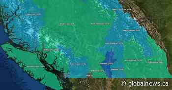 Snowpack levels above average for most of province: B.C. River Forecast Centre