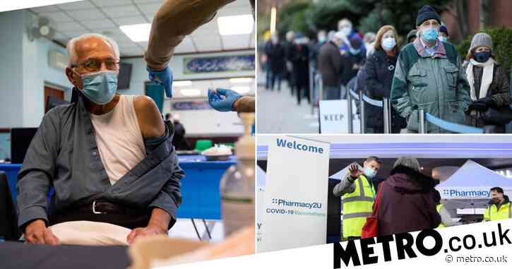 32 more vaccine sites to open across England as number of jabs hits record high