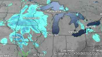 Metro Detroit weather: Cold, cloudy Saturday evening gives way to snowy Sunday - WDIV ClickOnDetroit
