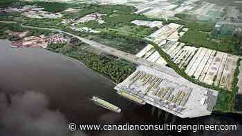 Three teams qualify to build Contrecoeur container terminal - Canadian Consulting Engineer