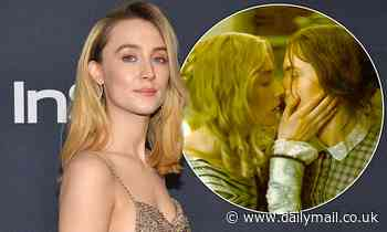 Saoirse Ronan says birthday sex scene with Ammonite co-star Kate Winslet was the 'greatest present'