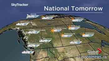 Edmonton weather forecast: Jan 23