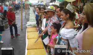 Paján: Torta de choclo más grande del mundo midió 94 metros | El Diario Ecuador - El Diario Ecuador