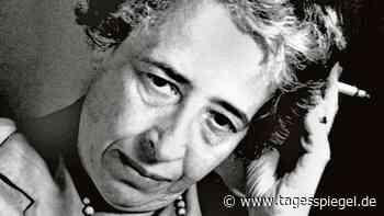 Hannah Arendt als aktuelle Stichwortgeberin : Mit sich selbst ins Gericht gehen - Tagesspiegel