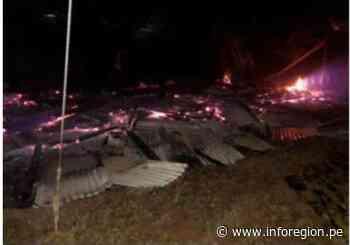 San Martín: Ayuda humanitaria para damnificados por incendio en Soritor - INFOREGION