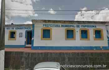 Prefeitura de Itapissuma PE anuncia novo Processo seletivo - Notícias Concursos