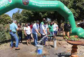 Inauguran pozo de agua potable en San Ignacio de Velasco | EL DEBER - EL DEBER