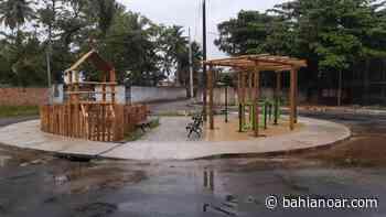 Camaçari: praça é inaugurada no bairro de Catu de Abrantes - BAHIA NO AR - bahianoar.com