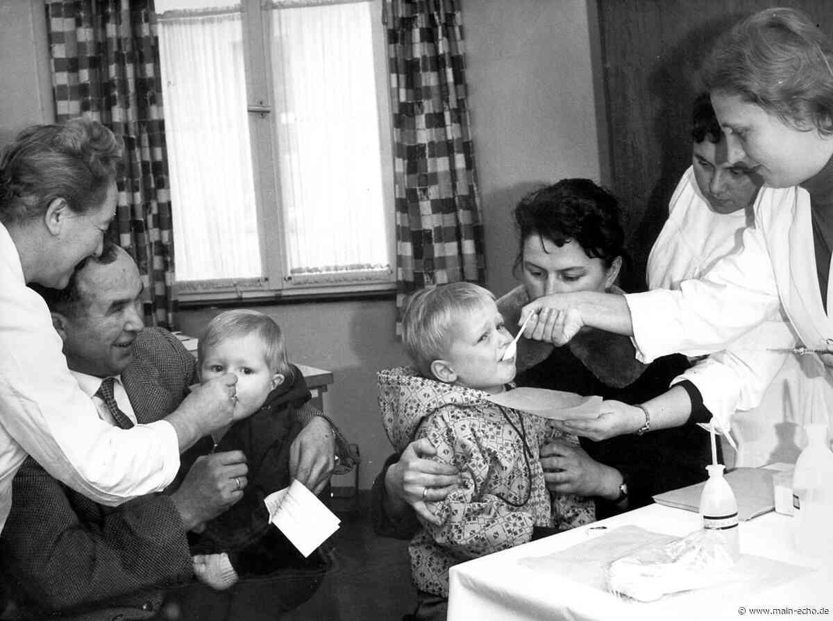"""""""Schluckimpfung ist süß . . . """": Die Geschichte einer Impfung in Aschaffenburg - Main-Echo"""
