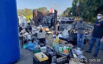 Volta Redonda sedia evento solidário para descarte de lixo eletrônico - O Dia