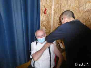 Covid : les premières vaccinations ont eu lieu à Blain ce mercredi - actu.fr