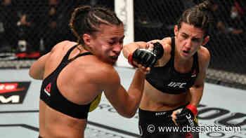 UFC 257 results, highlights: Marina Rodriguez smashes Amanda Ribas amid questionable ref decision