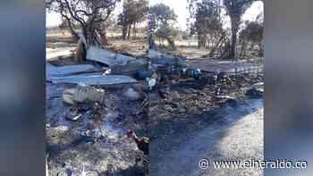 Incendio arrasó con 7 casas en La Jagua de Ibirico, Cesar - EL HERALDO