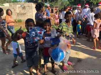 Recogen juguetes para los niños más pobres en Ráquira - Extra Boyacá