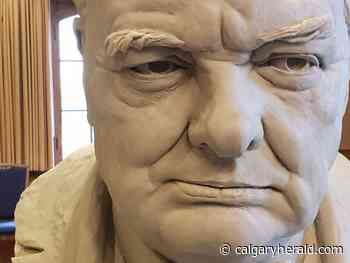 Edmonton sculptor creating Churchill statue to be unveiled in Calgary this August - Calgary Herald