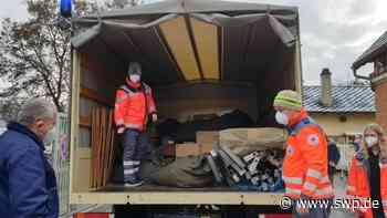 Hilfsaktion Eningen: DRK unterstützt Erdbebenopfer in Kroatien - SWP