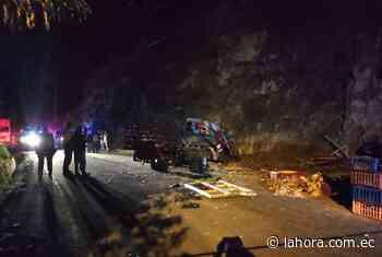 Accidente de tránsito deja una mujer muerta en Píllaro - La Hora (Ecuador)