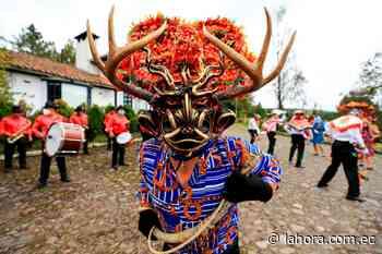 Los diablos de Píllaro bailan en vivo, en un desafío virtual - La Hora (Ecuador)