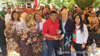 Encargado de negocios de Italia recibió llaves de la ciudad de Caripe - El Universal (Venezuela)