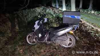 Nach Rollerunfall in England: Polizist springt als Essenslieferant ein